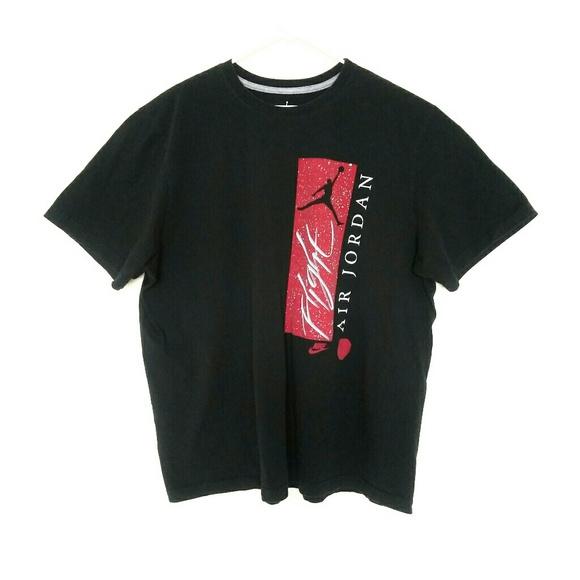 3xl Jordan T Shirt Spellout Mens Air Black Flight UMVGSpzLq